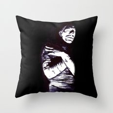 The Mummy Throw Pillow