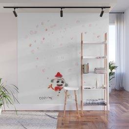 Snowman Wall Mural