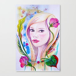 Blondie Canvas Print