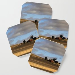 Rural Landscape and Farmhouse in Australia Coaster