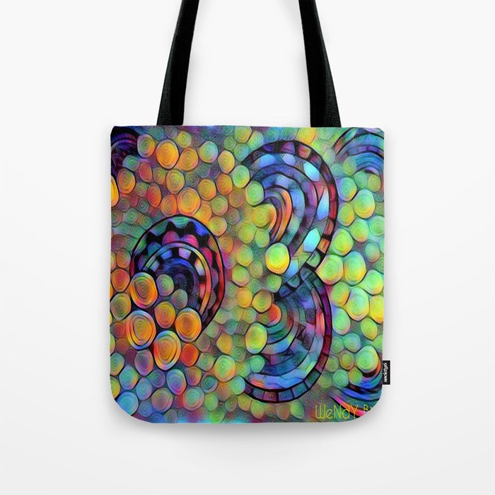 Dazed circles Tote Bag