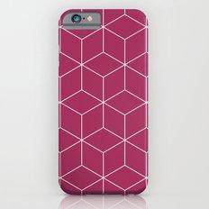 Cubes pink Slim Case iPhone 6s