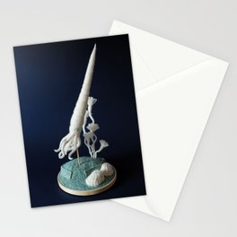Paleozoic Sea Creature: Squid Stationery Cards