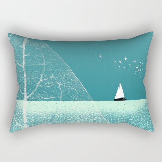 Ocean Wonderland II Rectangular Pillow