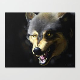 The Big Bad Wolf Canvas Print