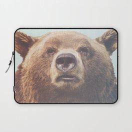 Bear Art Print, Grizzly Bear, Modern Home Decor, Bear Print, Bear Art, Animal Poster, Nature Home Decor, Animal Photo Print, Grizzly Bear Laptop Sleeve