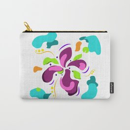 Flower power green lover Carry-All Pouch