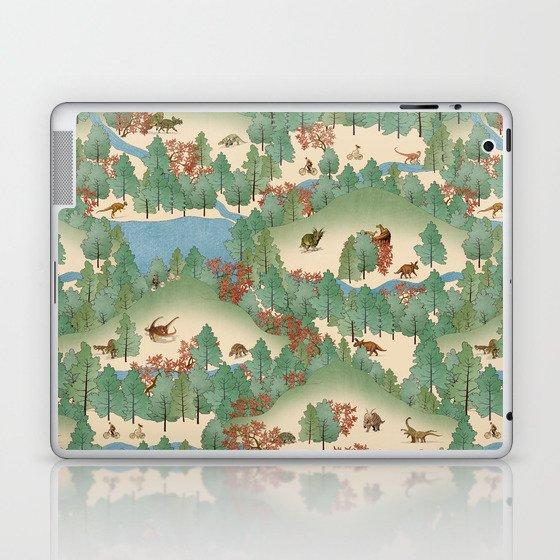 Travelling Through Jurassic Laptop & iPad Skin