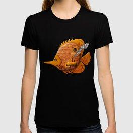 Steampunk Butterflyfish II T-shirt