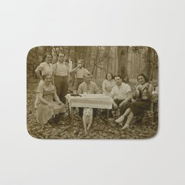Picnic in the Woods Bath Mat