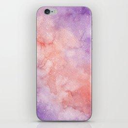 Pink & Purple Galaxy iPhone Skin