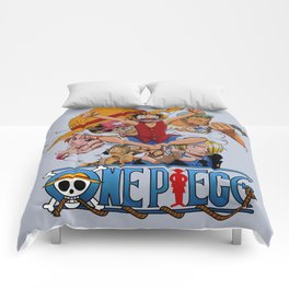 Luffy together Friends - OnePiece Comforters