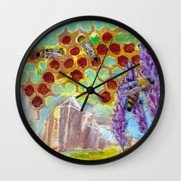Gaia Heals Wall Clock