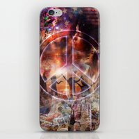 woodstock iPhone & iPod Skins featuring Woodstock Peace by ZiggyChristenson