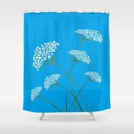 Queen Anne's Lace a Kentucky Wild Flower Shower Curtain