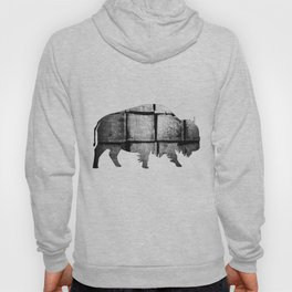 Buffalo (The Living Things Series)  Hoody