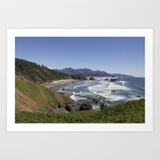Cannon Beach View from Ecola Park Art Print