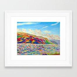 Peachland Trip Framed Art Print