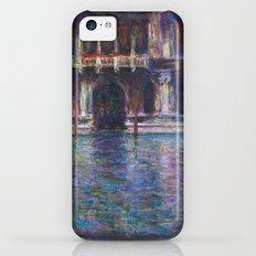 Palazzo Contarini by Claude Monet iPhone 5c Slim Case