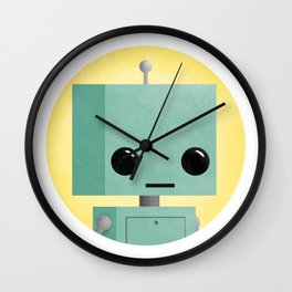 Ronnie the Robot Wall Clock