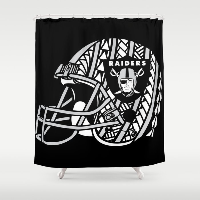 Polynesian Style Raiders Shower Curtain By Lonicaphotography Polydesigns