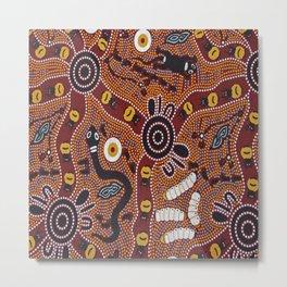 Australian Aboriginal Metal Print