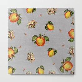 fruit and blossoms Metal Print