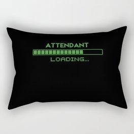 Attendant Loading Rectangular Pillow