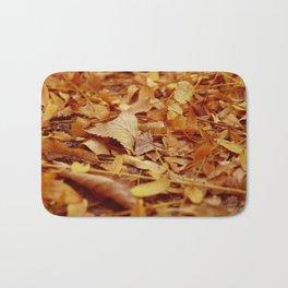 The Autumn leaves Bath Mat