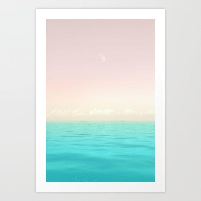 Sunset Sea Kunstdrucke