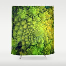 Living Fractals Shower Curtain