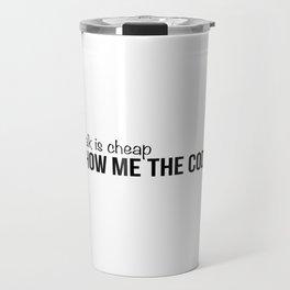 Show me the code Travel Mug