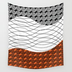 Line 1 Wall Tapestry
