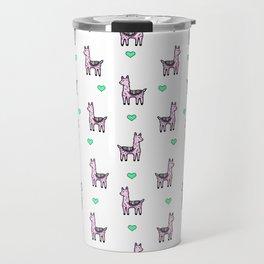 Llama Love Travel Mug