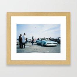 San Francisco Lowrider Meet Framed Art Print