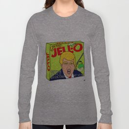 Donald Trump Shotgun Apple Jell-O Art - Single Box Long Sleeve T-shirt