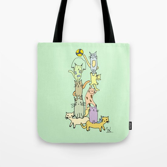Game Day - Cats Tote Bag