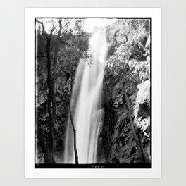 Waterfall in Cataract Canyon, Grand Canyon Art Print