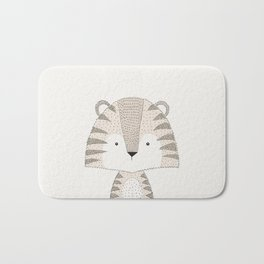 Tiger, Baby Safari Animals Nursery Bath Mat
