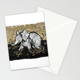 Happy Little Elephant Stationery Cards