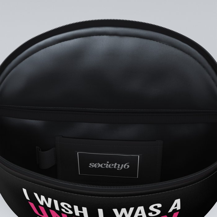 Wish I Was A Unicorn Funny Quote Fanny Pack