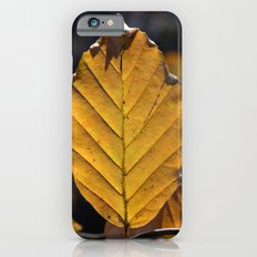 Yellow Leaf  iPhone 6 Slim Case
