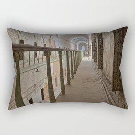 Green Grunge Mile Rectangular Pillow