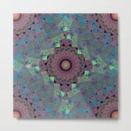 Fluid Abstract 33 Metal Print