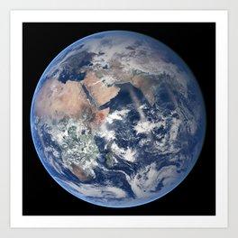 2014 NASA Blue Marble Art Print
