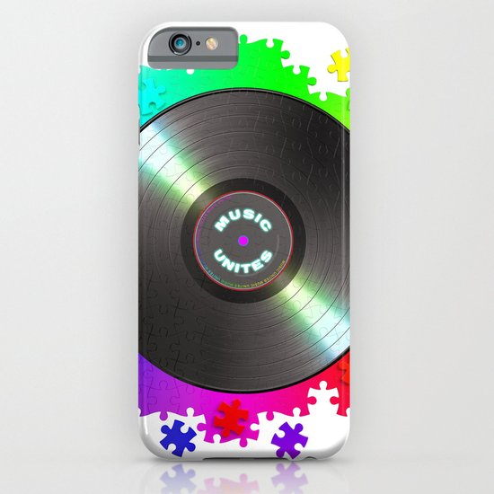music_unites ! iPhone & iPod Case