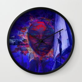 Canvas Miracles Wall Clock