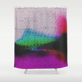 Heavy Glow Shower Curtain