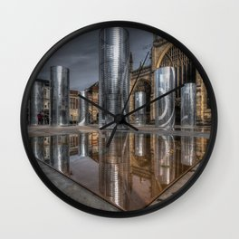 Artwork in the City Wall Clock