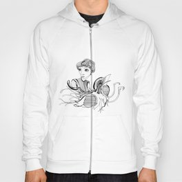 Woman On Bird Hoody